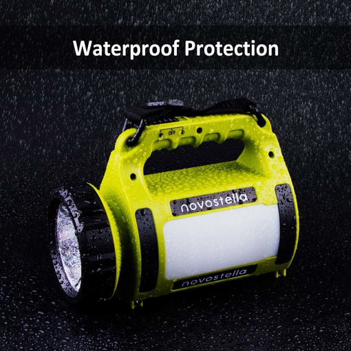 Picture of NOVOSTELLA Rechargeable CREE LED Torch, Multi-functional Camping Light