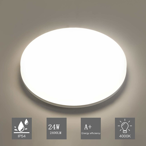 Picture of LED Ceiling Light 24W 2400LM 4000K Natural White Round 28cm