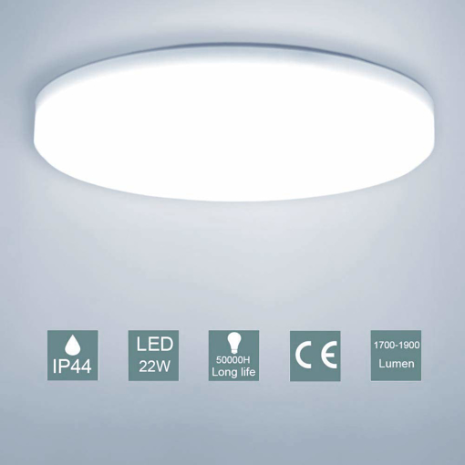Picture of Bathroom Led Ceiling Light 22W Daylight Ceiling Light