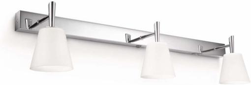 Picture of Philips MyBathroom Hydrate Bathroom Wall Light Chrome