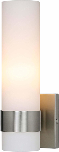 Picture of Wall Light 1 Light Sconce Vanity Lights with Cylinder Glass