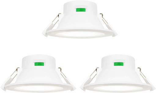 Picture of Dimmable 10W LED Ceiling Downlights Recessed Lights Warm Cool White Lighting