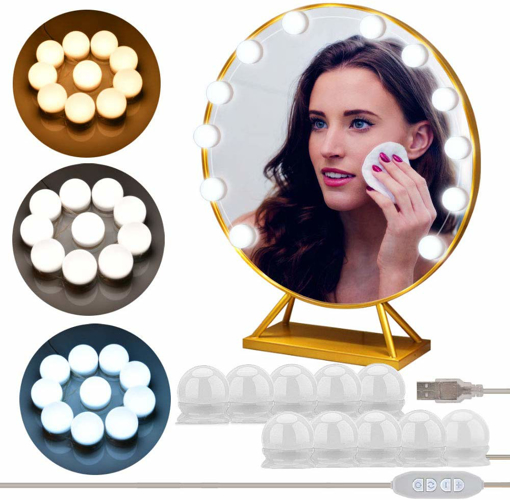 Picture of Make Up Light Dimmable Bulbs Hollywood Mirror Lights Bulbs 10 PCS