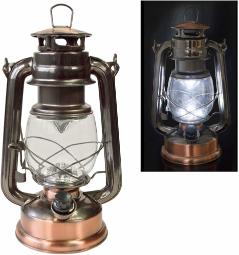 Picture of Traditional 15 LED Hurricane Miners Lantern Light Lamp