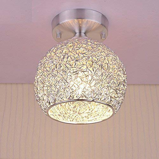 Picture of Modern Ceiling Light Ceiling Lamp in Aluminum Lampshade for Bedroom Living Room Hallway