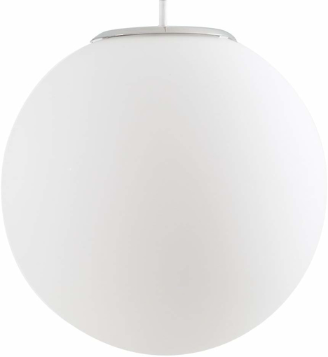 Picture of Large Modern White Frosted Glass Globe Ceiling Pendant Light Shade
