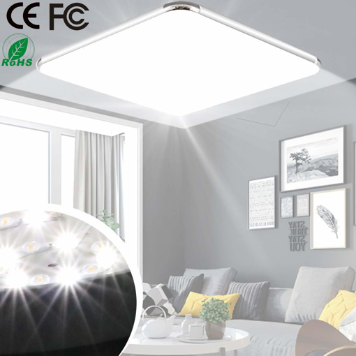 Picture of Ceiling Light, Bathroom LED Lights Ceiling Kitchen 100W Equivalent, 12W 1200lm, 6500K Cold White