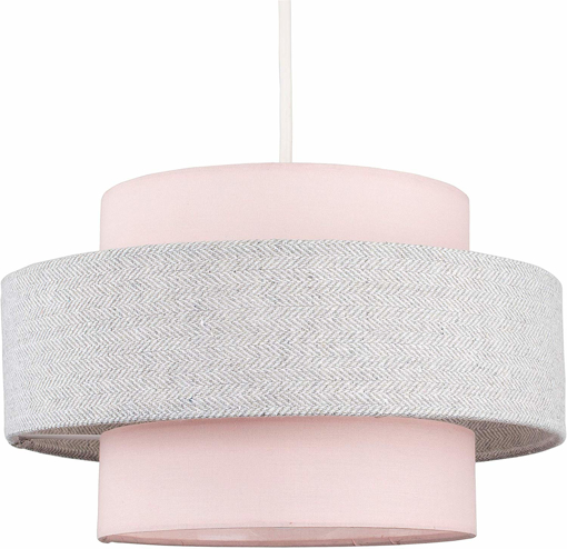 Picture of Modern Cylinder Ceiling Pendant Light Shade