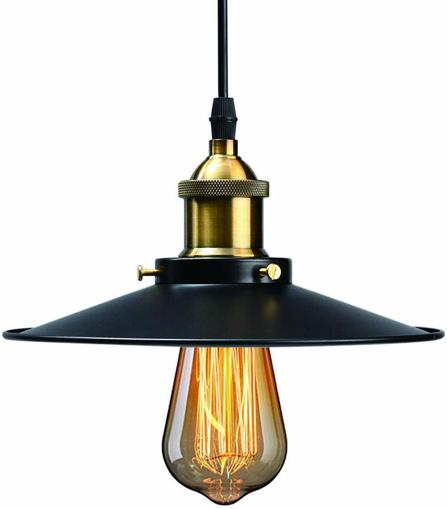 Picture of Industrial Ceiling Light, HUIBONA Retro Pendant Light Fitting