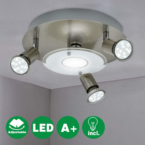 Picture of 4 Way Round LED Ceiling Spot Lights for Kitchen