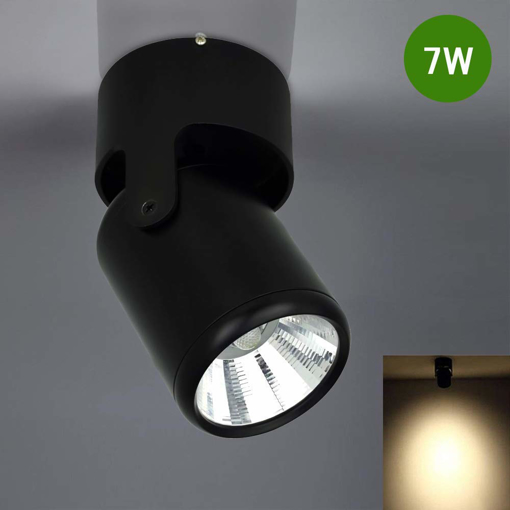 Picture of Wall Spotlight Eye-Care Chrome Finish Rotatable Black