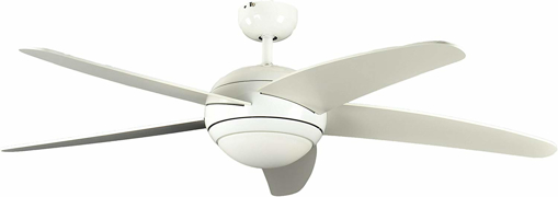Picture of Ceiling Fan Melton White 52 inch with Light and Remote Control Blades White