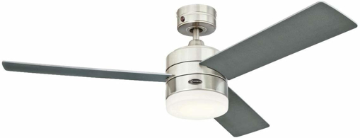 Picture of Alta Vista Ceiling Fan, Metal, Integrated, 17 W, Stainless Steel [Energy Class A+]