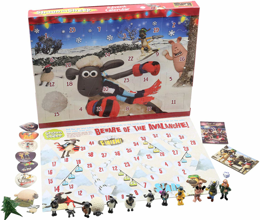 Picture of Kids Advent Calendar Wallace and Gromit Christmas Calendars
