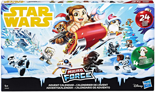 Picture of Star Wars Star Wars Micro Force Advent Calendar, Multi-Colour