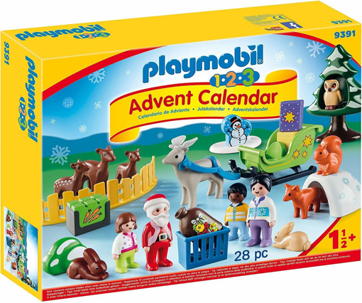 Picture of 1.2.3 Advent Calendar - Christmas is the Forest with Reindeer Sleigh
