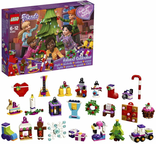 Picture of Advent Calendar 2018 Christmas Countdown Building Toy for Kids