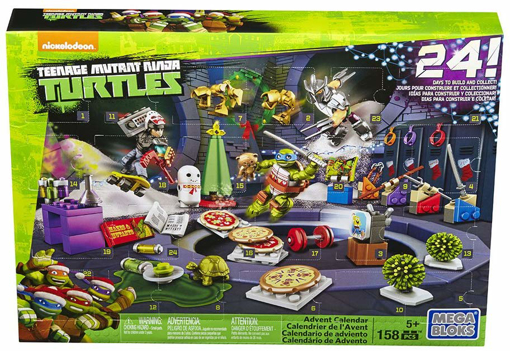 Picture of Teenage Mutant Ninja Turtles Xmas Advent Calendar - Includes 158 Pieces