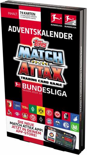 Picture of Match Attax BL20-AC1 Advent Calendar Multi-Coloured