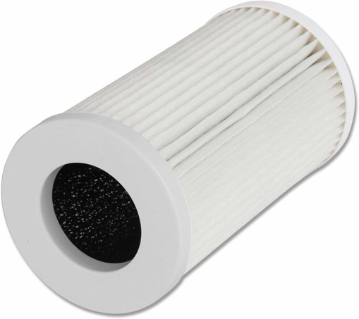 Picture of QUEENTY True HEPA Filter - Air Purifier Replacement Filter Odour Allergies Eliminator for Smoke, Dust, Mold, Home, Office and Pets