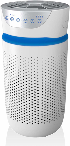 Picture of Compact Air Purifier with True HEPA & Carbon Filters,
