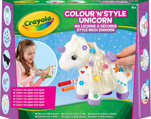 Picture of Colour n Style Unicorn Craft Kit