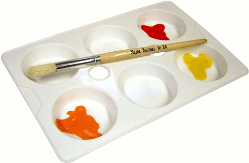 Picture of 6-Well Economy Paint Palette