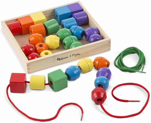 Picture of Primary Lacing Beads - Educational Toy