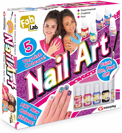 Picture of Nail Art Kit - Hot New Colours!