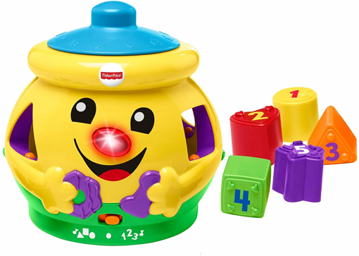 Picture of Cookie Shape Surprise, Laugh and Learn Shape Sorter Baby Learning Toy
