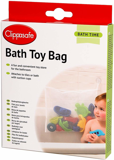 Picture of Bath Toy Bag - White