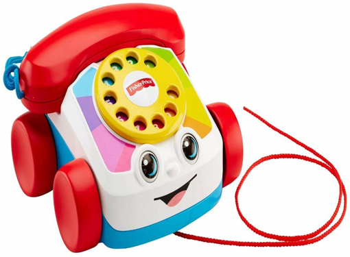 Picture of Chatter Telephone, Toddler Pull Along Toy Phone