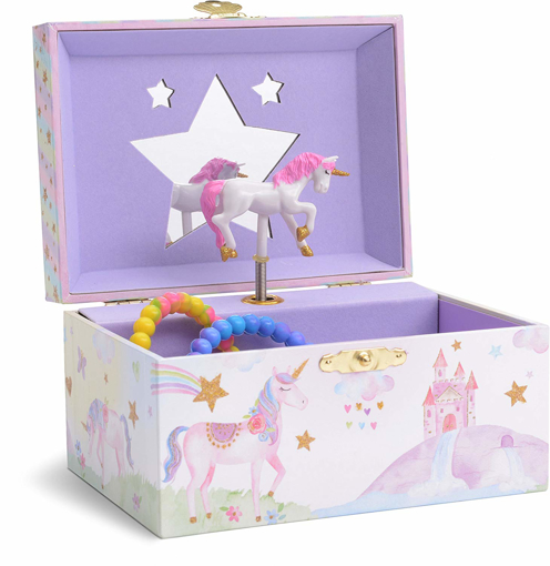 Picture of Girl's Musical Jewellery Storage Box