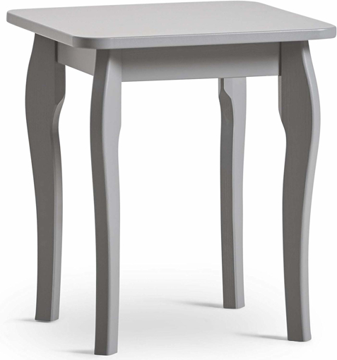 Picture of Grey Dressing Table Stool – Vintage Style Makeup Chair