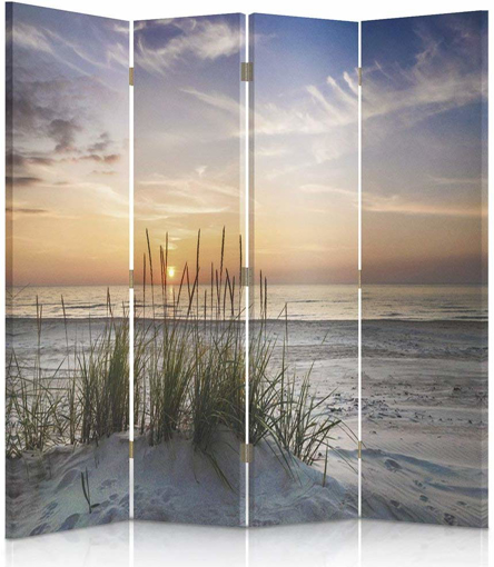 Picture of Decorative Room Divider, Paravent, Double sided, 4 panels (145x150 cm) LANDSCAPE,`
