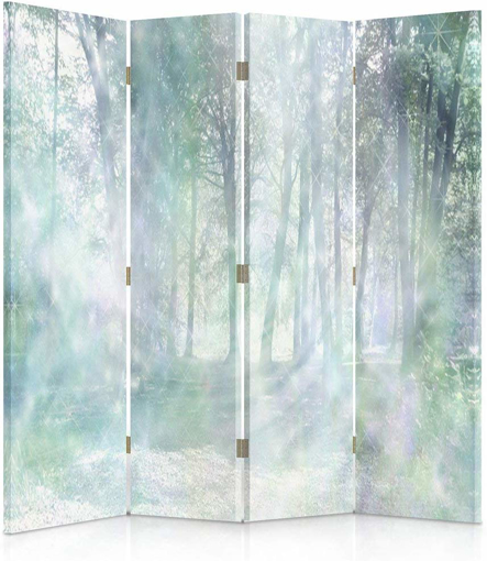 Picture of Canvas Screen, Decorative RoomDivider, Paravent, Double sided, 360°,