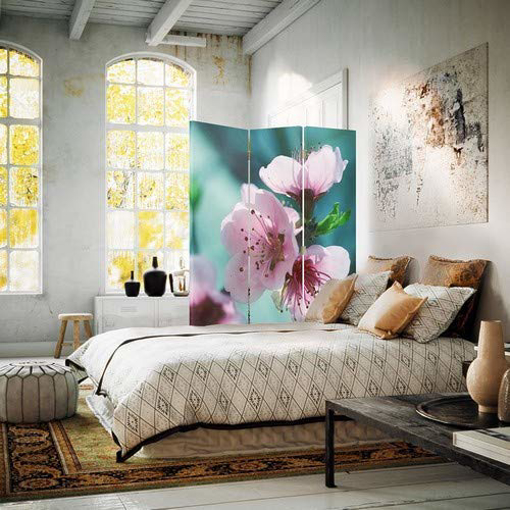 Picture of Canvas Screen, Decorative Room Divider, Paravent
