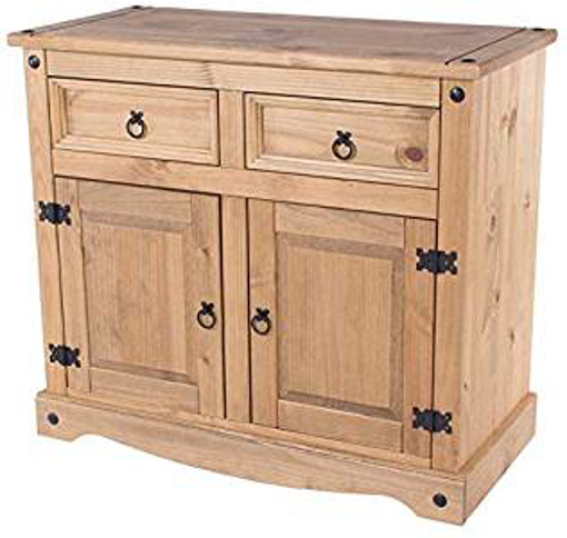 Picture of Corona Mexican Pine Large Sideboard   2 Drawers & 2 Doors   Rustic Design