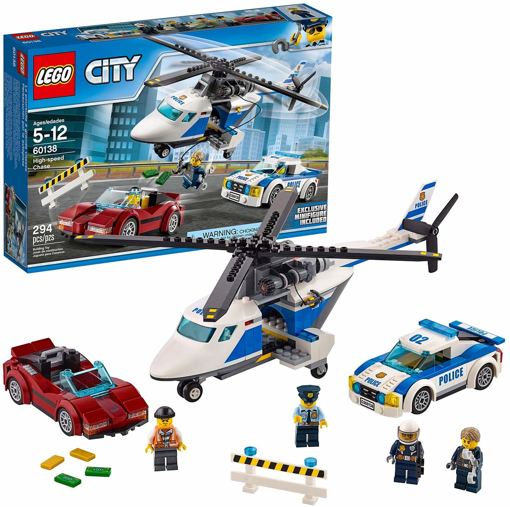 Picture of City Police High-speed Chase Playset