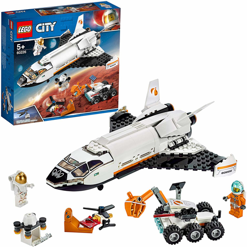 Picture of City Mars Research Shuttle Spaceship Construction Toys
