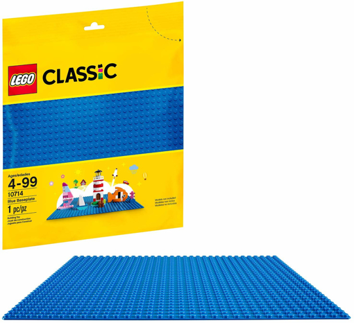 Picture of Classic Blue Baseplate 10 x 10 Inch/32 x 32