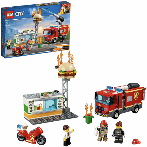 Picture of City Fire Burger Bar Fire Rescue Building Set