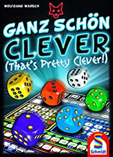 Picture of Schmidt Spiele CSG Ganz Schon Clever Game Dice - English Rules