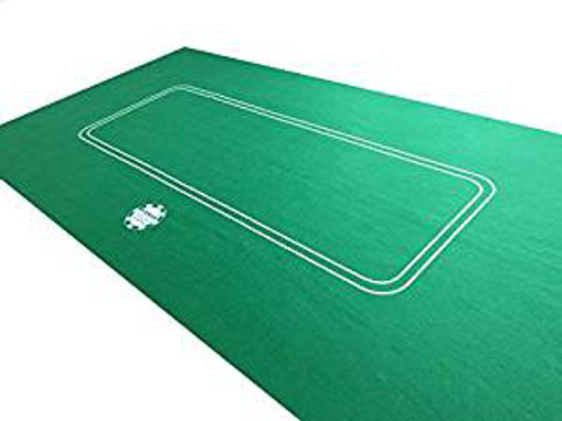 Picture of NEW 6FT LARGE POKER CASINO FELT BAIZE LAYOUT