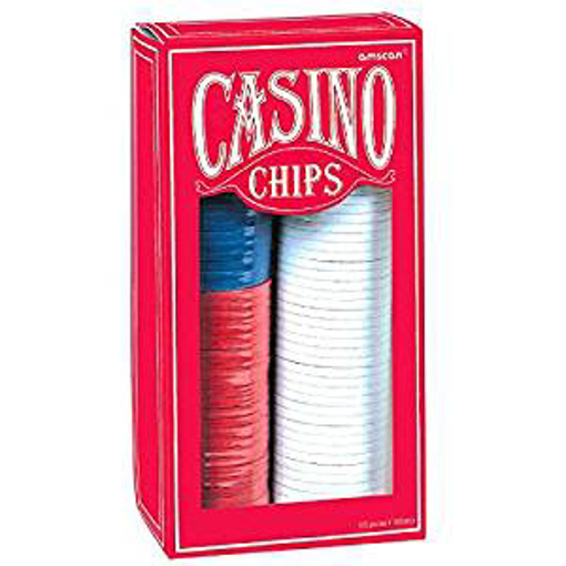 Picture of amscan 255580 Casino Poker 150 Chip Set