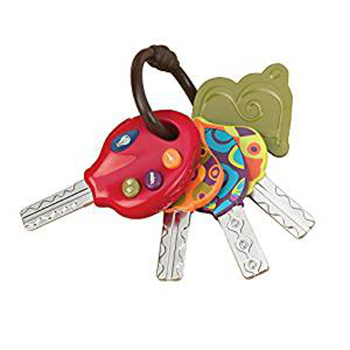 Picture of B. toys – LucKeys – 4 Textured Toy Key