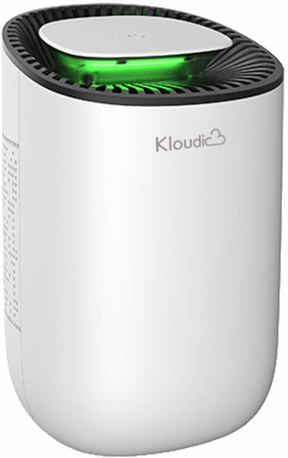 Picture of KLOUDIC Dehumidifier 600ml Portable Mini Electric Dehumidifier Ultra Quiet Air Cleaner for Home, Kitchen, Garage, Wardrobe, Basement