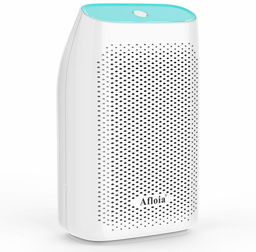 Picture of Afloia 700ml Home Dehumidifier Air Dryer Absorbs Humidity 300ml Per Day Electric Moisture Absorber With Detachable Water Tank for Home, Bedroom, Bathroom, Caravan, Kitchen