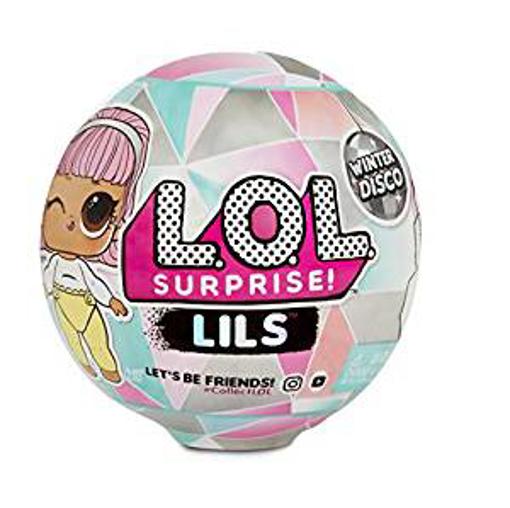 Picture of L.O.L Surprise! 560319 L.O.L Lils Winter Disco Series with 5 Surprises - Multi