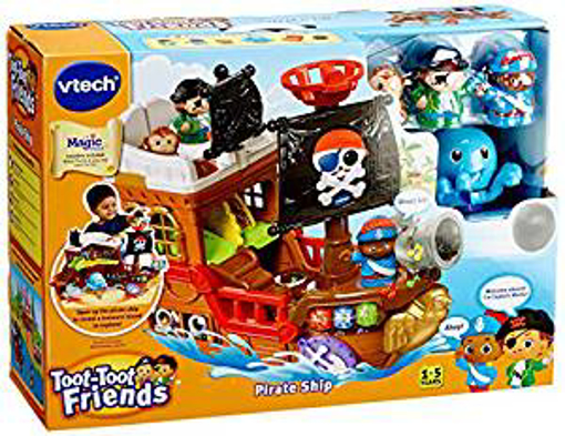 Picture of Vtech 177803 Toot Friends Kingdom Pirate Ship Toy - Multi-Colour
